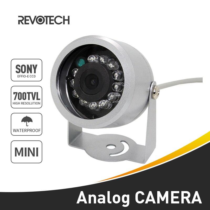 """bilder für 1/3 """"sony effio-e 700tvl 12led ir cctv-kamera wasserdichten outdoor-überwachungskamera mini nachtsicht analog cam (OSD Optional)"""