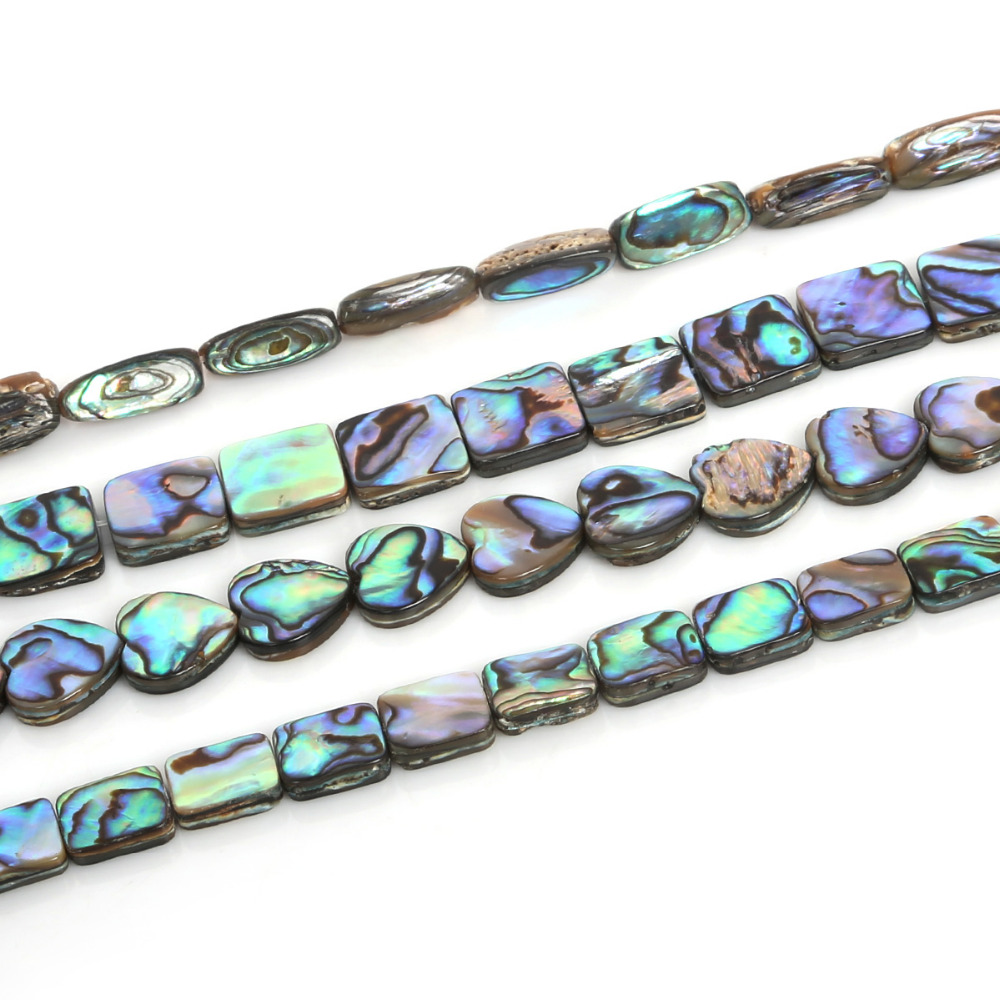 Abalone Shell Bracelet-Accessories Jewelry Loose-Beads Beads-Spacer Necklace for Making-Findings