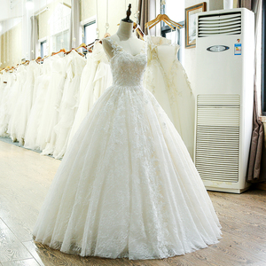 Image 3 - SL 221 New Arrival Sweetheart Neck Lace Wedding Dress 2017