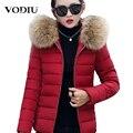 Frauen Winter Mäntel Kurze Pelz Kragen Plus Größe Parka Mit Kapuze Dünne Koreanische Jacke Für Weibliche Baumwolle Winter Parka Unten Grundlegende jacken