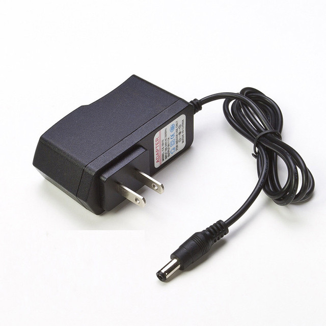 Hot! 9 V 5.5X2.1 Mét Power Adapter Tường Phổ Sạc Di Động Phổ điện thoại Usb Adapter Cho Android Pad Tablet Pc Mỹ Cao chất lượng