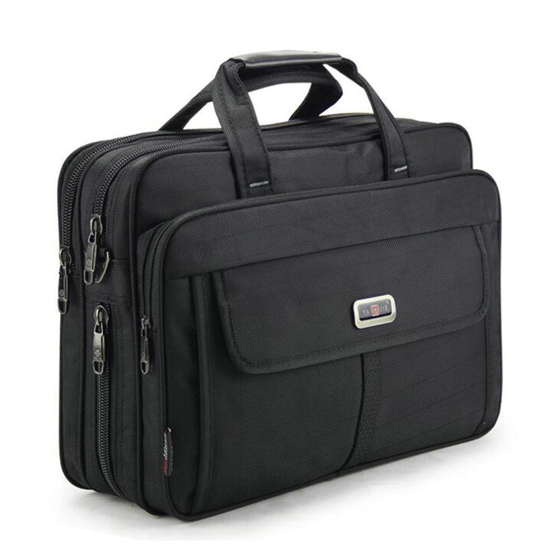 Men's Handbags Business Men Single Shoulder Bag 15.6 Inches Laptop Bag Casual Travel Bag Briefcase