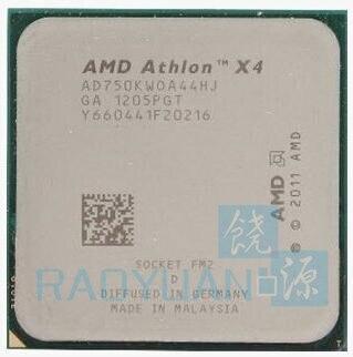 AMD X4 750K AD750KWOA44HJ Quad-Core FM2 3.4GHz 4MB 100W CPU processor pieces X4-750K (working 100%) Socket FM2 sell X4 760K