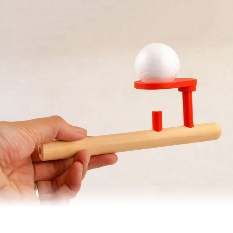 Ball Game Toy : Pcs wooden beech pipe foam ball set floating