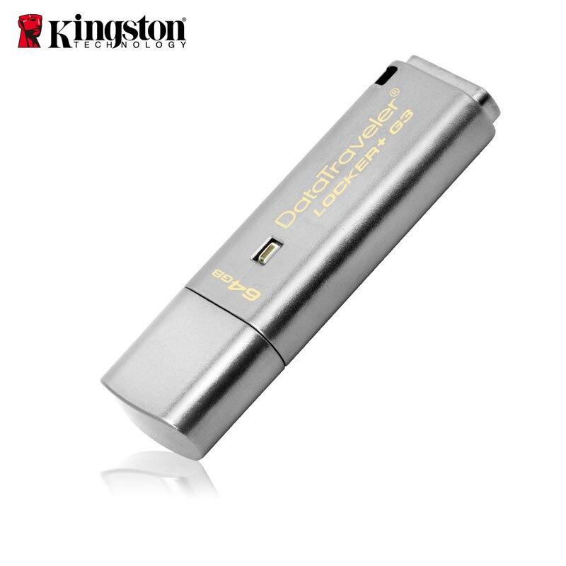 Kingston USB Flash Drive Pendrive 8 gb 16 gb 32 gb 64 gb USB 3.0 metall Persönliche Sicherheit usb Drive Memoria Stick cle usb-Stick