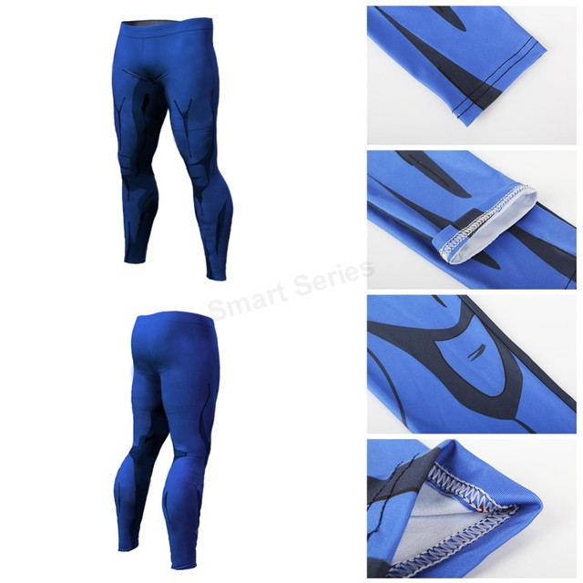 Dragon Ball Pants Compression Tight 3D Men Vegeta Goku Pant
