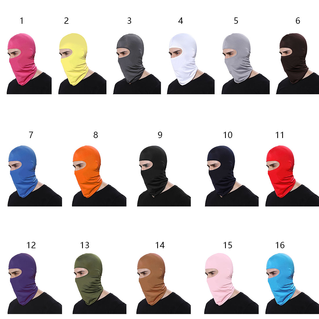 CAR-partment Motorcycle Face Mask Outdoor Sports Neck Face Mask Winter Warm Ski Snowboard Wind Cap Police Cycling Balaclavas