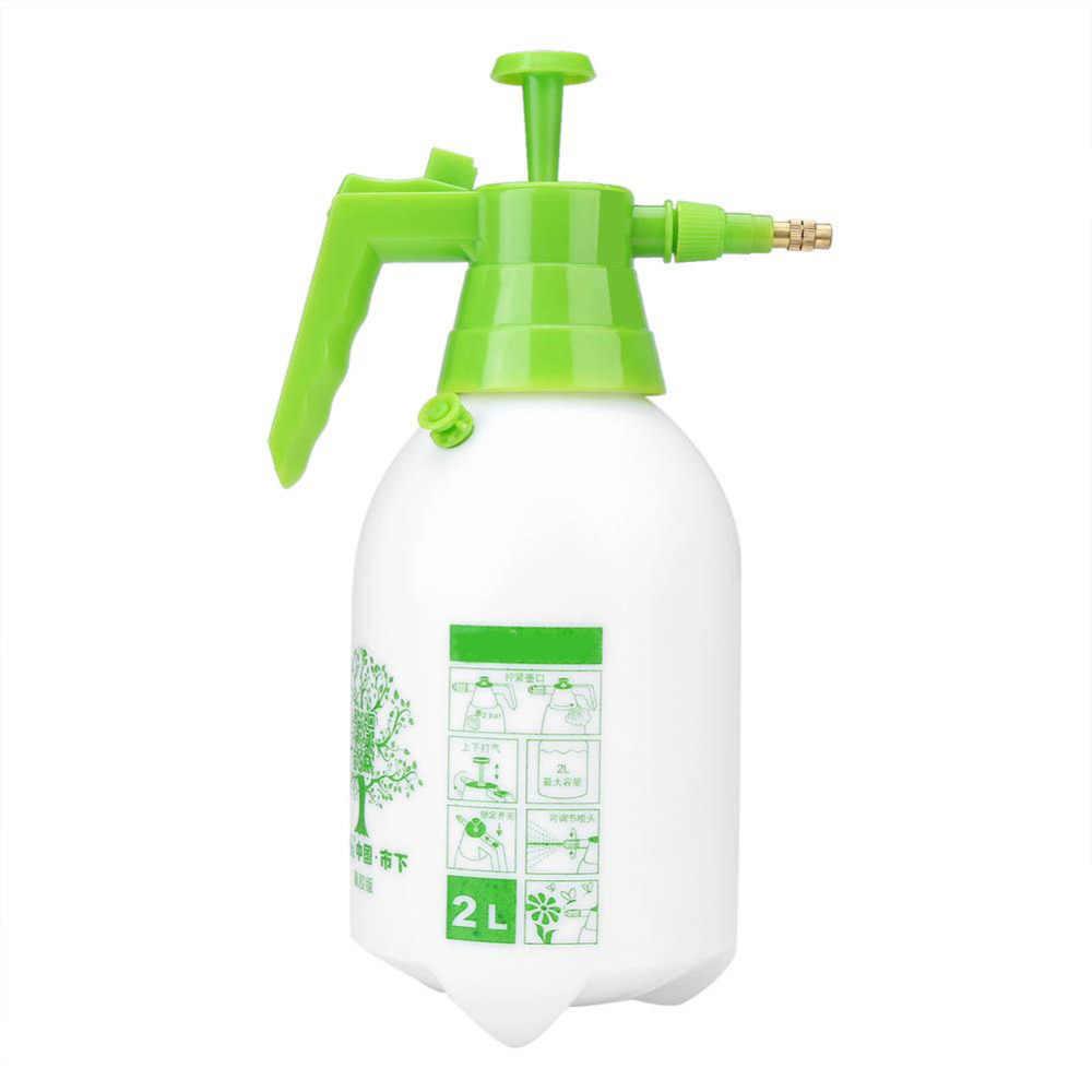 2l اليدوي ضغط البخاخ رذاذ الماء بندقية الرش أداة حديقة الحديقة النباتية الري نظام الري