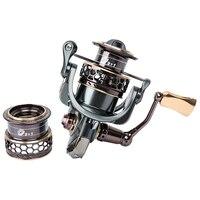 TSURINOYA Спиннинг рыболовная Катушка 9 + 1BB Шестерни отношение 5,2: 1 двойной металлический песочные часы приманка катушка Jaguar 3000 Мультипликатор