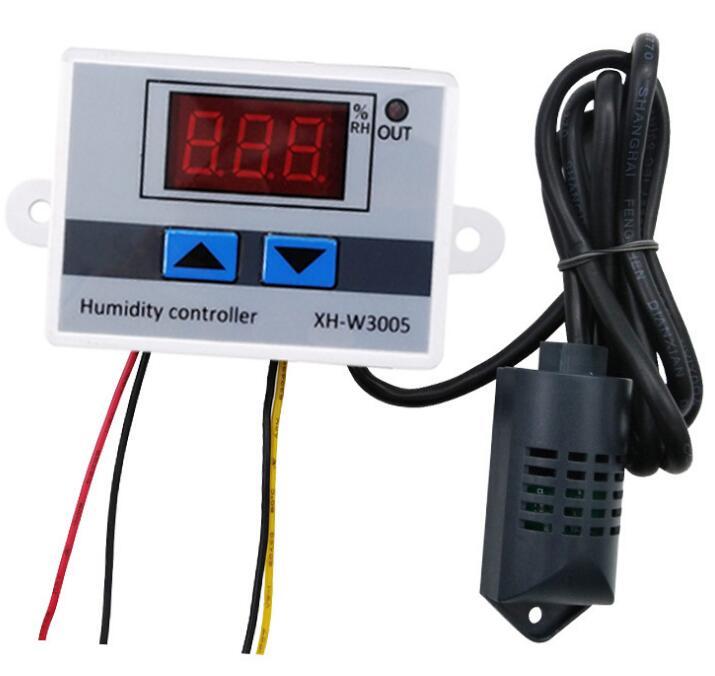 XH-W3005 Digital Display Humidity Controller Humidification Dehumidifier Constant Humidity Controller