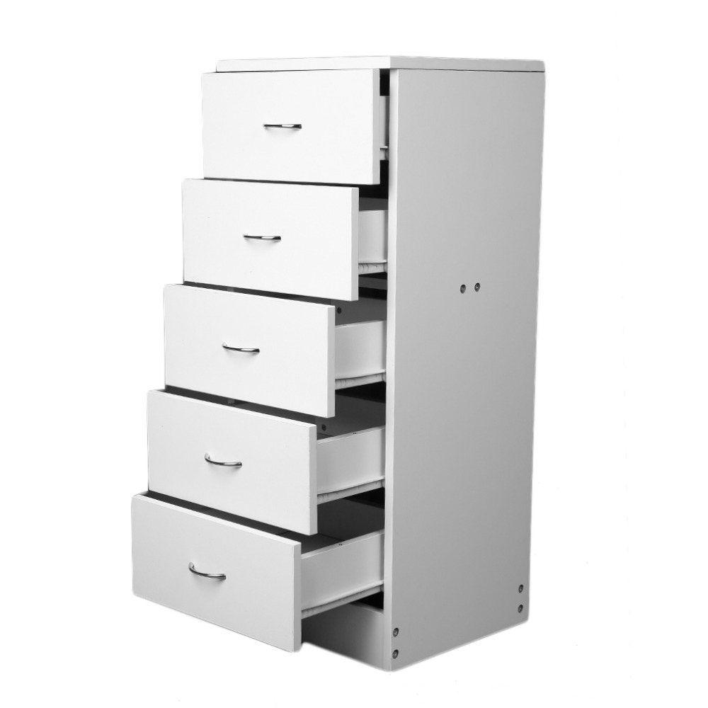 Tall Narrow 5 Drawer Chest Bedroom Furniture Hallway Storage Boldon Range Cabinet Drawer Cabinet Lockers Chest of Drawers willow wood bamboo rattan straw bedside cabinet lockers storage cabinets debris cabinet