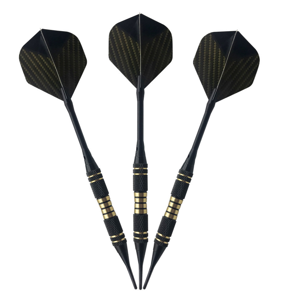 3pcs set Universal 2BA Soft Tip Darts 18g Brass Barrel Professional Darts Indoor Needle for Sporting Game E in Darts from Sports Entertainment
