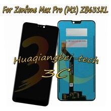 6.3 asus zenfone max pro (m2) zb630kl/zb631kl 전체 lcd display + 터치 스크린 디지타이저 어셈블리 100% 테스트