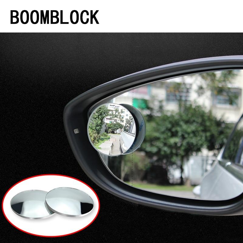 2x Adjustable Rearview Mirror Car-Styling For Kia Rio Ceed Cerato Sorento Seat Leon Ibiza Audi A3 A4 B8 B6 B7 A6 C5 C6 Q5 A5 Q7