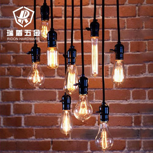 Vintage nostalgia diy pendant light table decoration e27 Edison ...