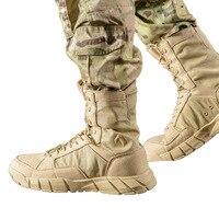 Для мужчин Открытый Отдых Пеший Туризм Сапоги солдат тактический треккинг скальные туфли 1000D Водонепроницаемый кроссовки Высокое качество