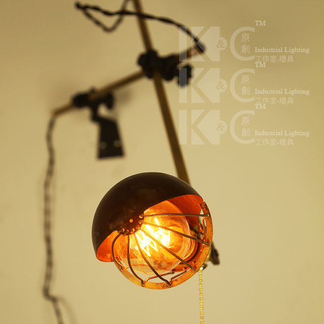 [ Kc ] vintage industrial style wall lamps unusual high-tech creative fun  novelty strange