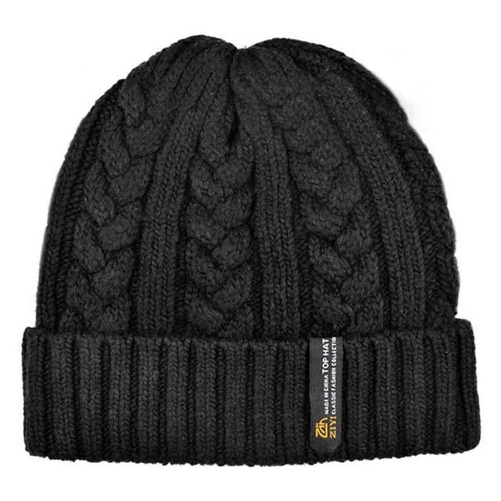 861cc18a886 ZIYI Man Beanies Crochet Hats Warm Wool Knit Hat Turban Knitted Hat ...