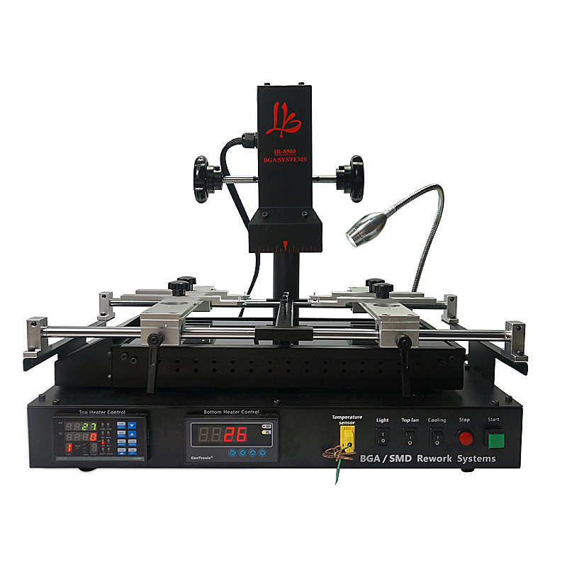 IR8500 BGA station de reprise Allemagne elstein plaque chauffante mis à jour IR 8500 bga rebillage machine économique