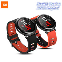 2pc Film Xiaomi Amazfit Bip Smart Watch Bluetooth Android WiFi Dual Core GPS Tracker Heart Rate Monitor Sport Watch Mobile Phone