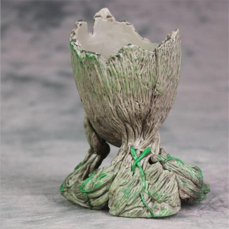 The Galaxy Avengers Action Figure Model Toy Baby Tree Flowerpot Man Phoneholder Macetero Pen Planter Flower Pot
