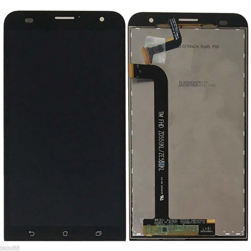 Prix pour LCD Affichage à L'écran Tactile Digitizer Assemblée Verre Pour ASUS ZenFone 2 Laser 5.5 ZE551KL