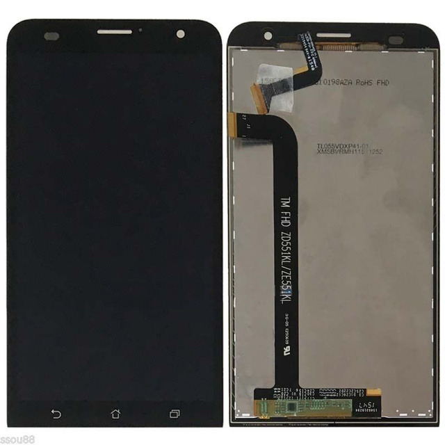 LCD Display Touch Screen Digitizer Glass Assembly For ASUS ZenFone 2 Laser 5.5 ZE551KL