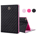 Crown Cover Case For Apple ipad Mini 3/2/1 PU Leather Ultra Slim Smart Stand Capa Para Case for Fundas iPad Air iPad 2/3/4