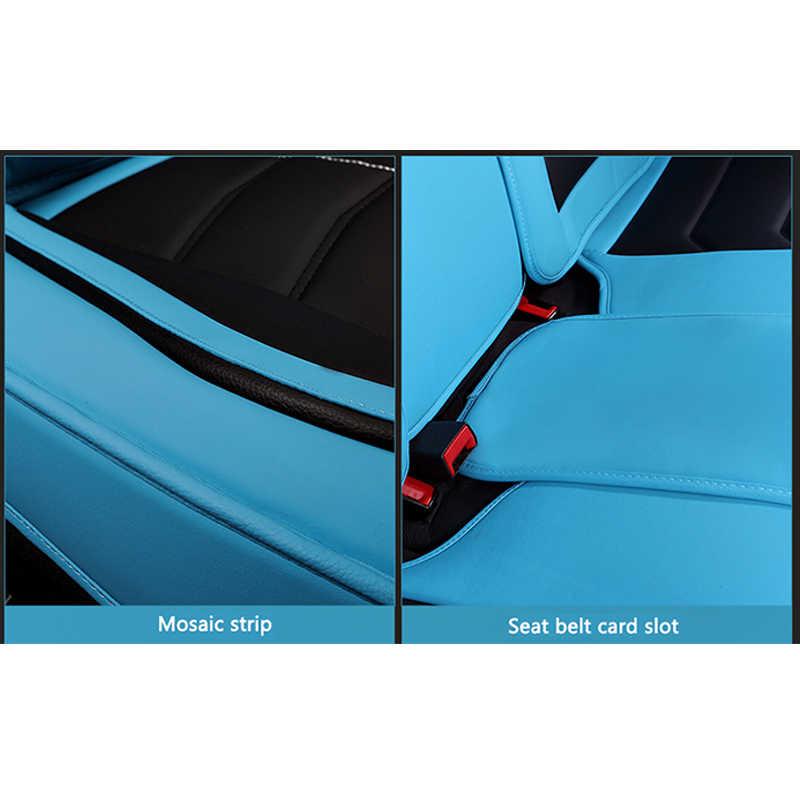 KADULEE luxus leder auto sitz abdeckung für Volkswagen passat vw polo golf tiguan jetta touareg Sharan bis Phaeton auto zubehör