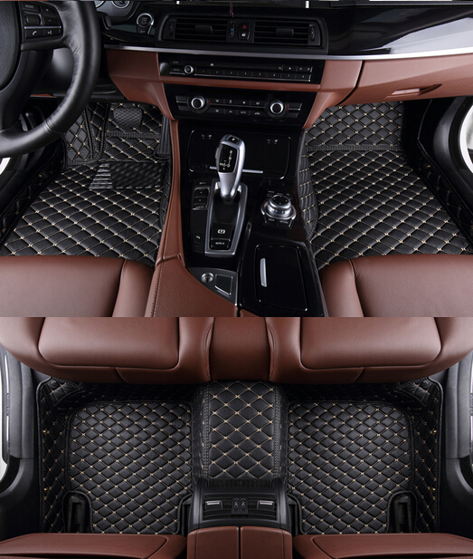 Best quality! Custom special car carpets for Maserati Levante 2018 2016 waterproof car mats for Levante 2017,Free shipping