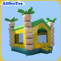 Inflatable Coconut Tree Bouncy Castle for Kids