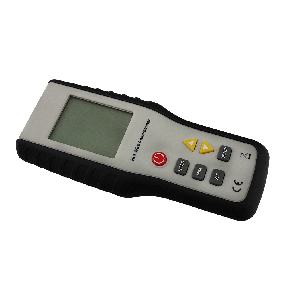 HT-9829 High Sensitivity Heat-Sensitive Thermal Anemometer Anemometro Measuring Wind Speed With Digital LCD Display  цены