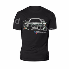 Мужская футболка, новые футболки с коротким рукавом, мультяшная футболка, мужские новые ретро футболки M3 E30 M power, классические Забавные футболки