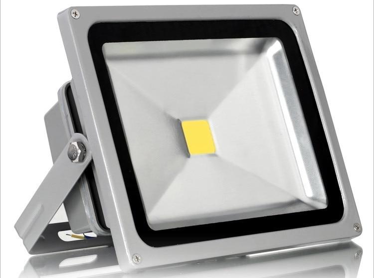 ФОТО 95% OFF 50W LED Flood Light Waterproof IP65 Floodlight Landscape LED outdoor lighting Lighting Lamp Warm/Cold White CE Rohs FCC