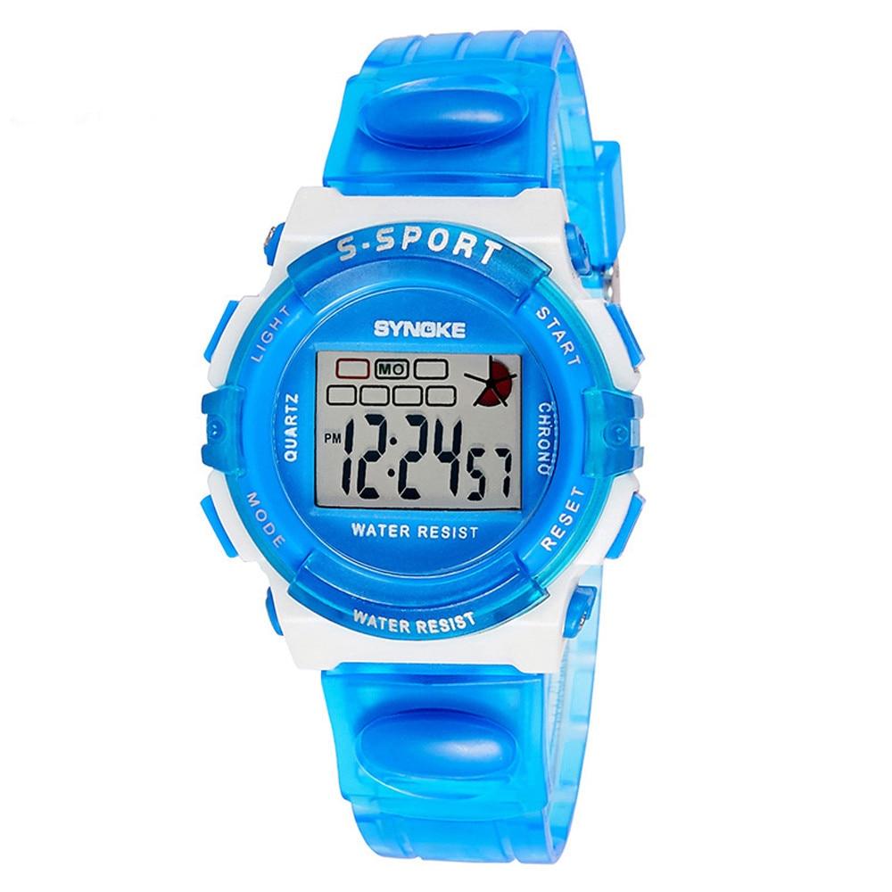 Men's Watches Synoke Men Sport Girls Kid Children Watch Analog-digital Watch Alarm Led Waterproof Boy Wristwatch Watches Backlight Wrist Watch Back To Search Resultswatches
