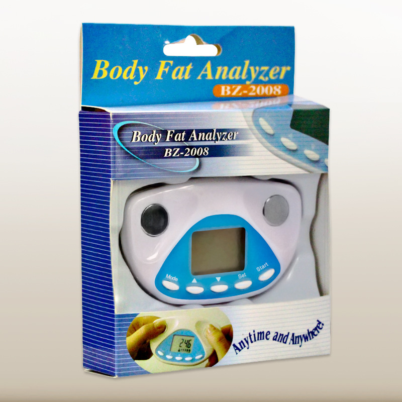 Body Fat Monitors Digital Human Body Fat Analyzer Fat Loss Tester Is The Body Fat Meter Free Shipping in Body Fat Monitors from Beauty Health