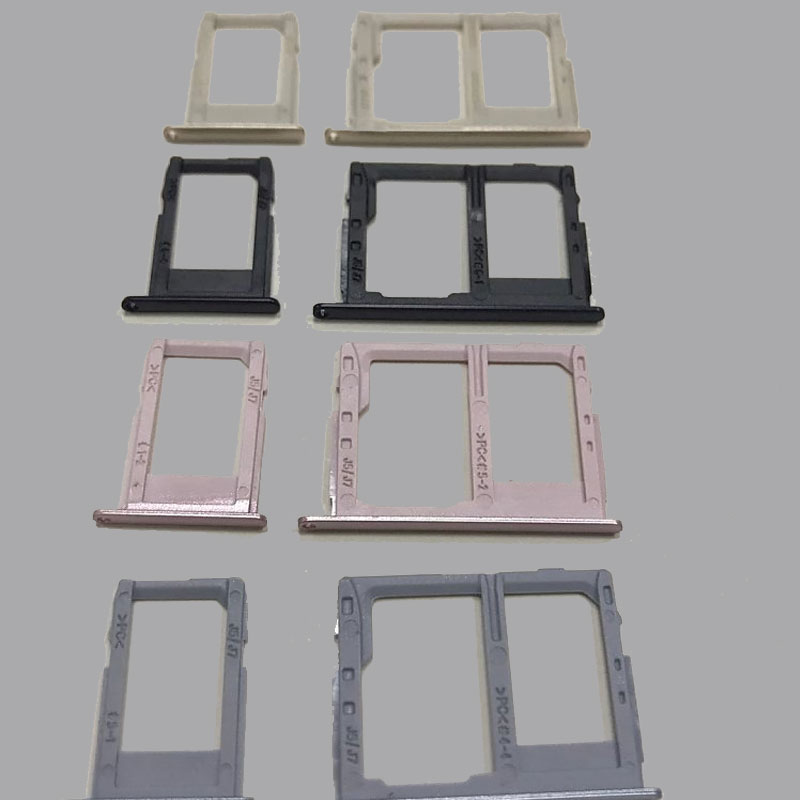 10sets/lot for Samsung Galaxy J3 J5 J7 2017 pro J330 J530 J730 SIM Micro SIM Card Tray Holder Micro SD Card Slot Holder Adapter