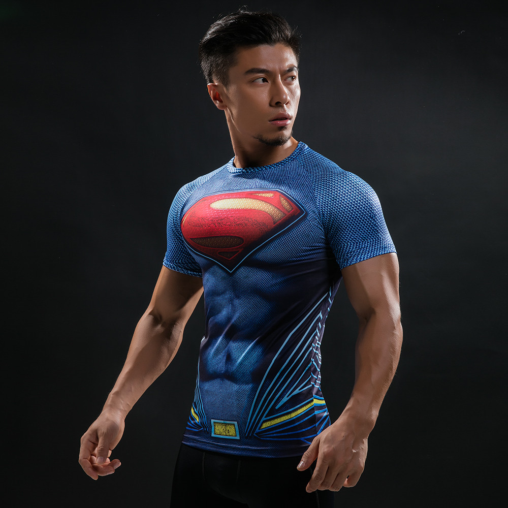 Punisher 3D Printed T-shirts Men Compression Shirts Long Sleeve Cosplay Costume crossfit fitness Clothing Tops Male Black Friday 101