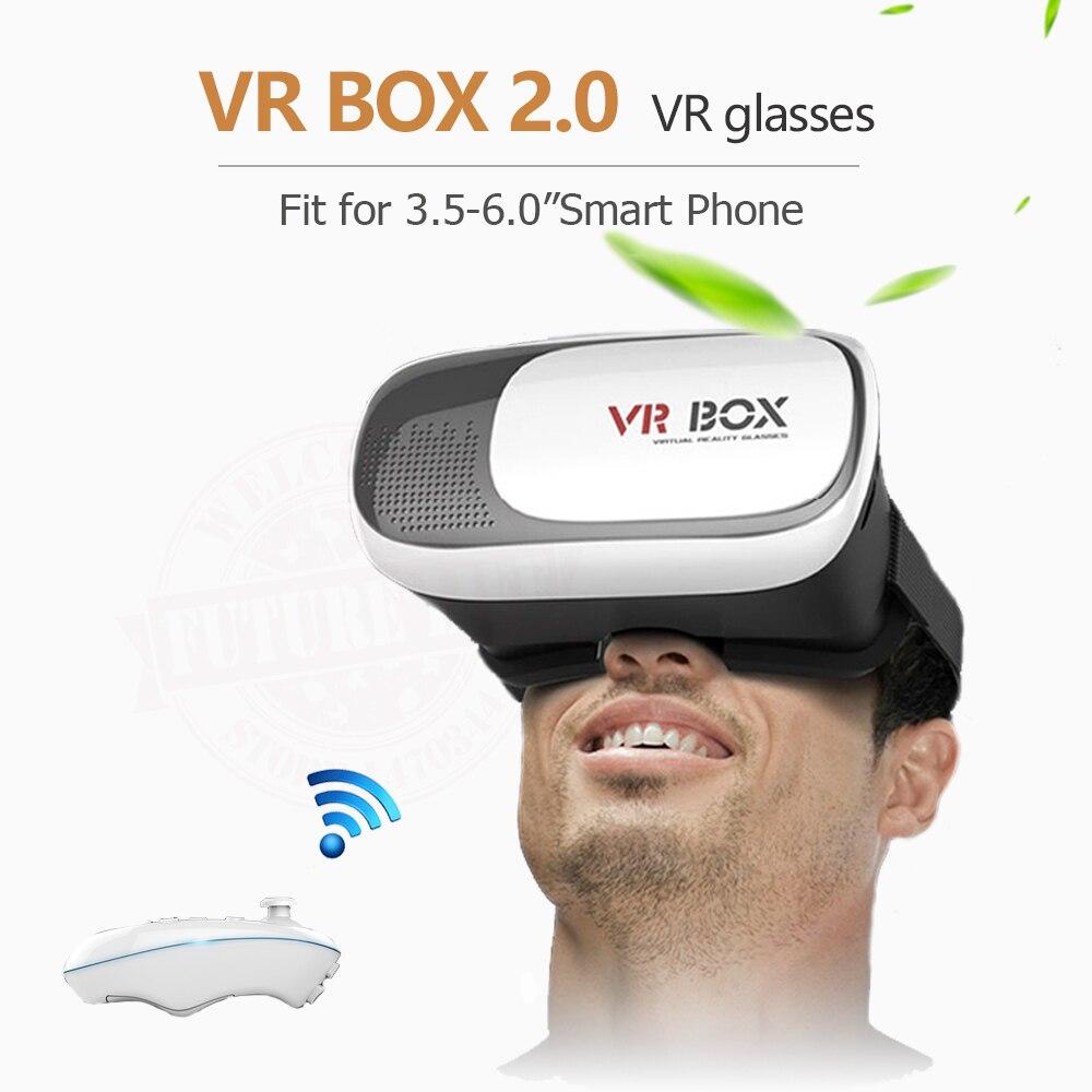 2017 New Google cardboard HeadMount font b VR b font BOX 2 0 font b VR