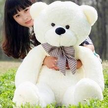 1 pc Lucu Ukuran Besar 80 cm empat warna Lembut Boneka boneka Beruang Mainan  Mewah Pecinta 839b222b6c
