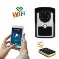 Super Waterproof WiFi Wireless Video Door Phone intercom Doorbell Camera Remote Unlock PIR IR Night Vision Alarm Android IOS