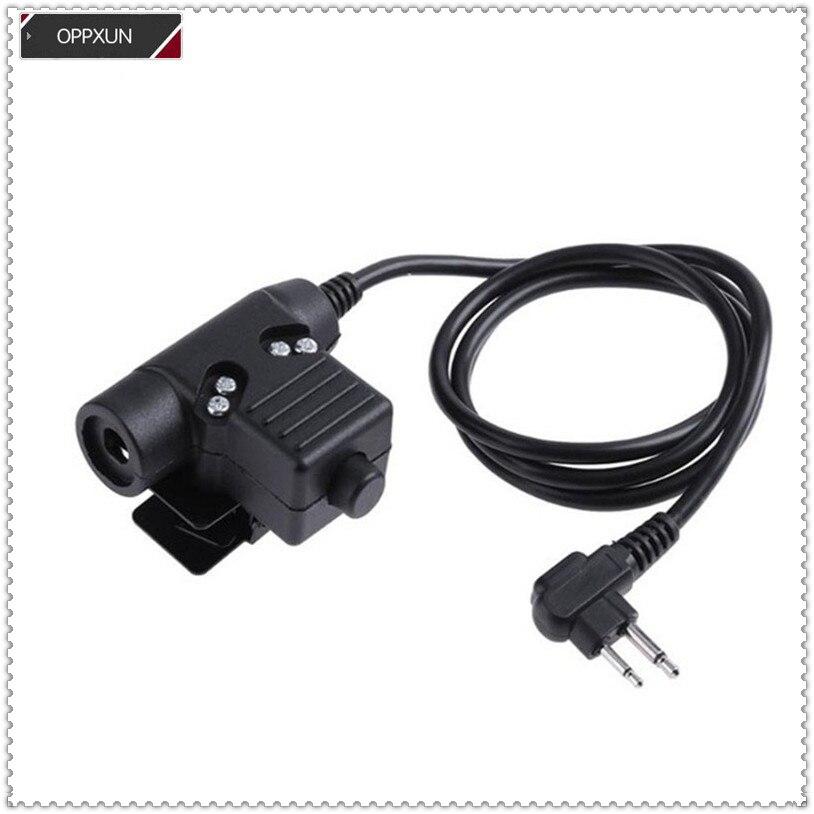 2PIN U94 Tactical Headphone For Motorola  Motorola Cp88, Cp040. CP100, CP125, CP150, CP200, CP250, CP300  GP88S GP3188 GP3688