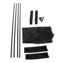Universal Negro de malla de enclavamiento VIP cortina de la ventana del coche parasol Visor UV bloque