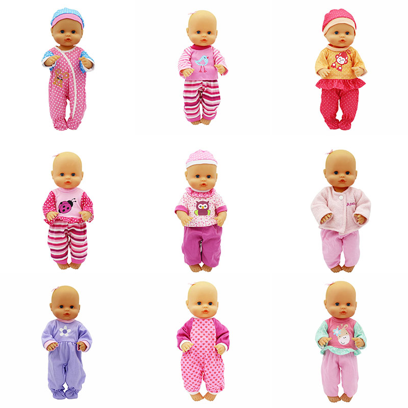 New 15 Styles Choose Doll Clothes Fit 33-35 Cm Nenuco Doll Nenuco Su Hermanita Doll Accessories