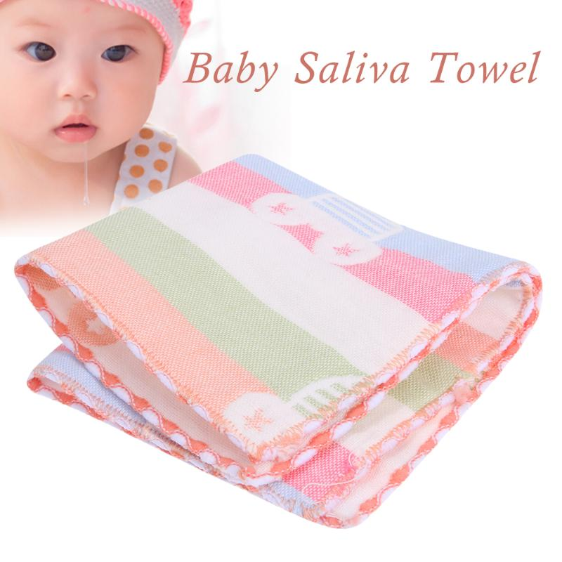 Cute Bath Beach Towel  Newborn Baby Cartoon Print Face Hand Bathing Towel Soft Cotton Baby Towel