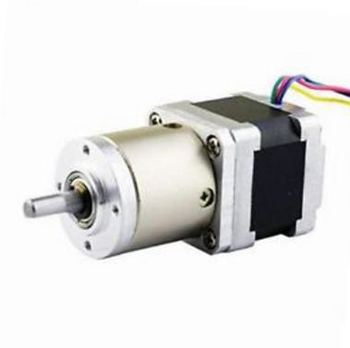 2pcs 14:1 Planetary Gearbox Nema 14 Stepper Motor 0.8A for DIY CNC Robot 3D Printer 14HS13-0804S-PG14 image