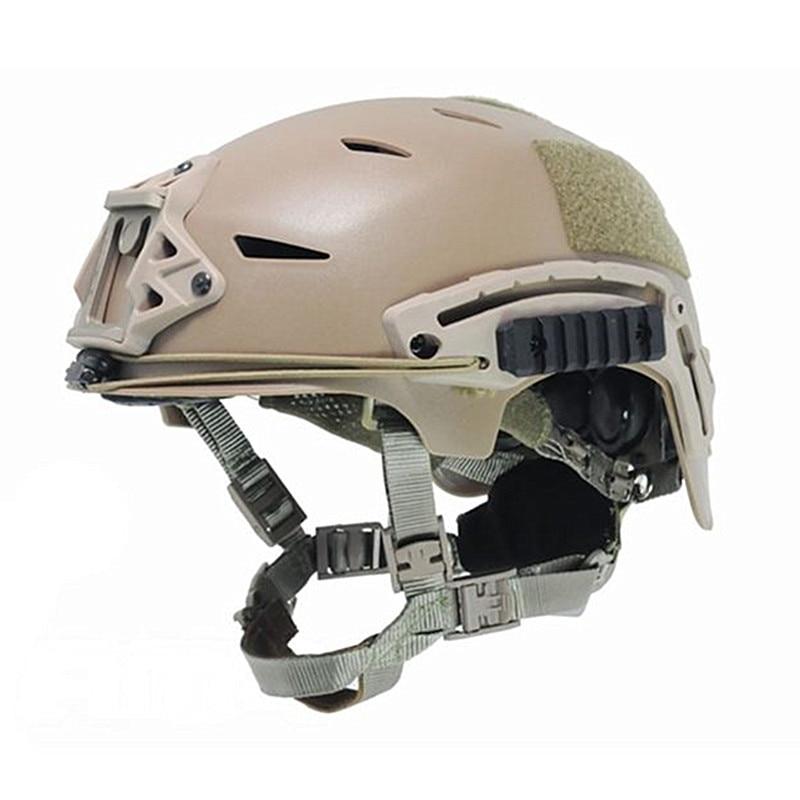 EXFIL Tactical Bump Helmet Rapid Reaction Combat Parachute Jump Camouflage Helmets Black Desert for Paintball Airsoft