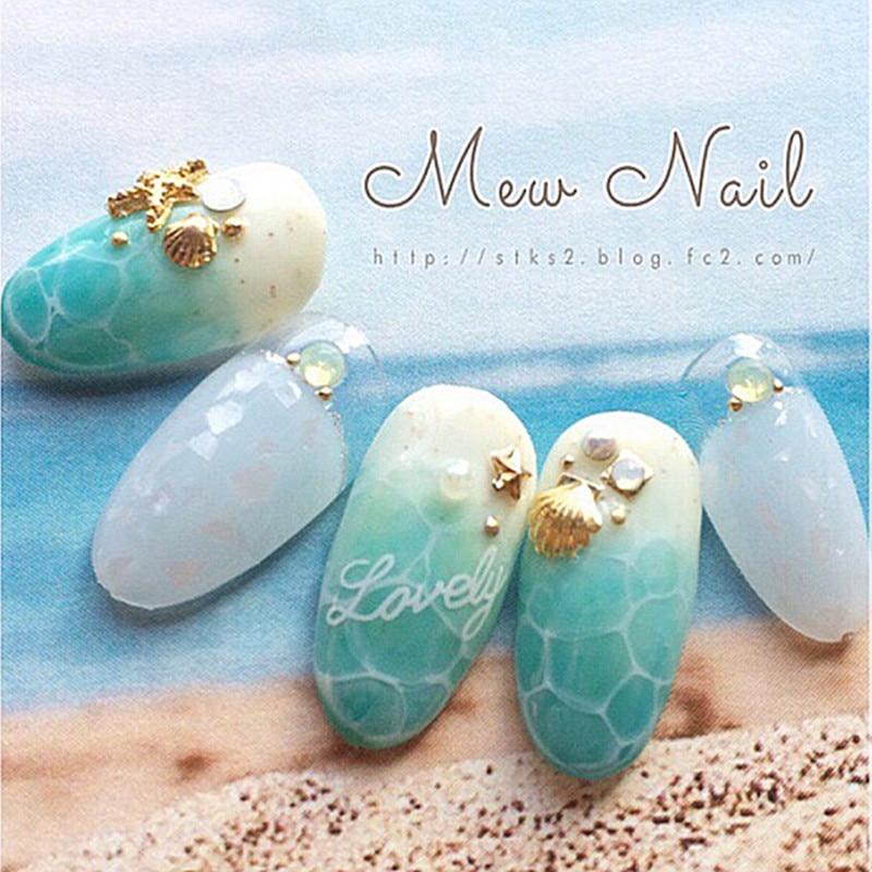 30pcs Lot 3d Sea Star S Nail Metal Art Accessories Supplies Manicure Beauty Tools Seastar Decor Design In Rhinestones Decorations From