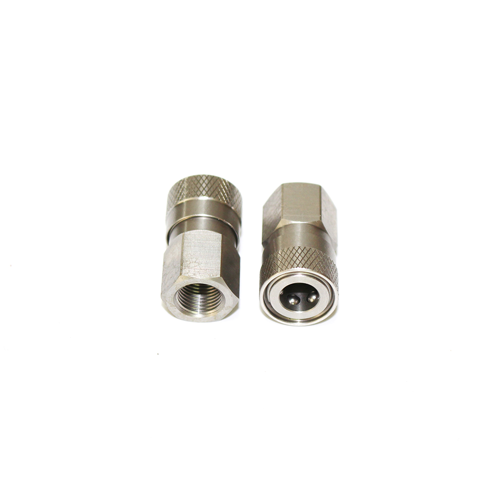 1/8 BSPP Thread Diving Quick Disconnect Paintball PCP Female QD Plug Stainless Steel Quick Connects 1LOT=2PCS