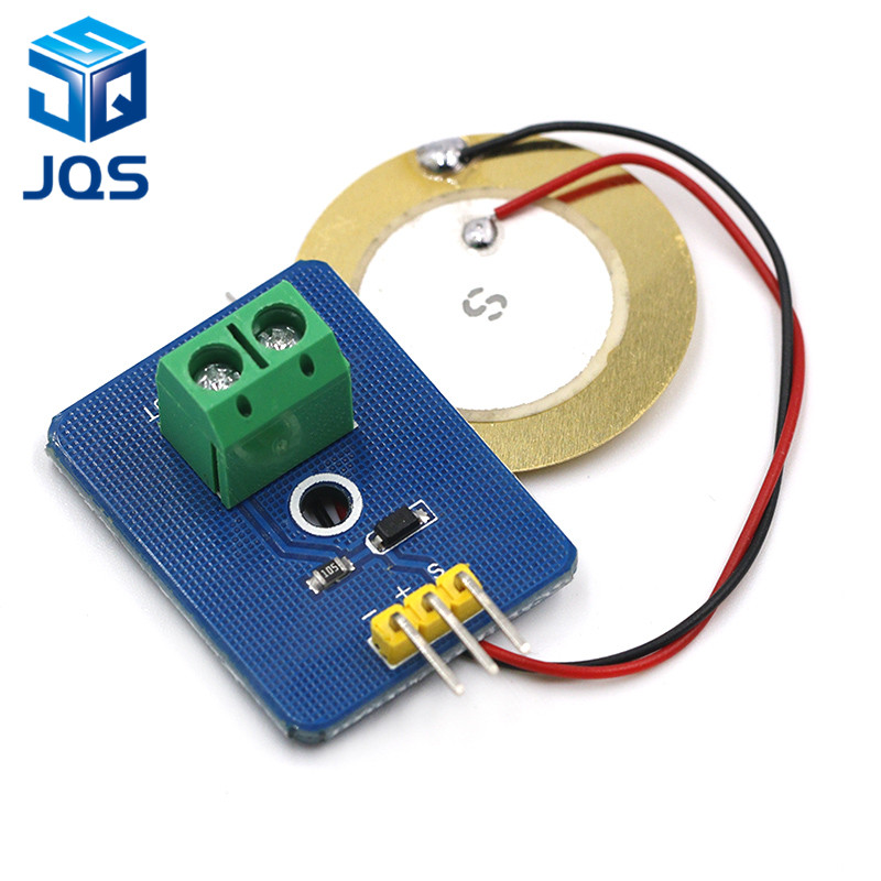 DIY KIT 3.3V/5V Ceramic Piezo Vibration Sensor Module Analog Controller Electronic Components Supplies Sensor for Arduino UNO R3DIY KIT 3.3V/5V Ceramic Piezo Vibration Sensor Module Analog Controller Electronic Components Supplies Sensor for Arduino UNO R3